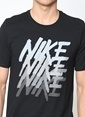Nike Baskılı Tişört Siyah